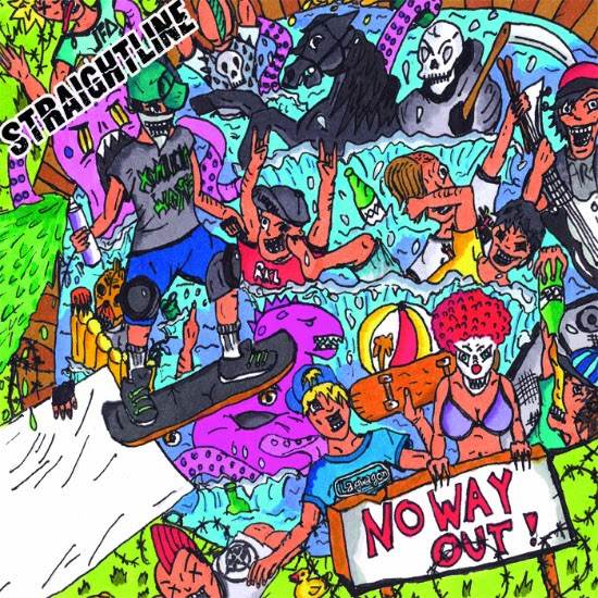 <center>Straightline re-release 'No Way Out' album</center>