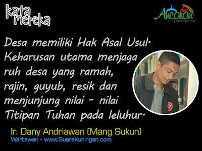 Ir. Dany Andriawan (Mang Sukun)