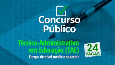 Concurso IFPI abre 24 vagas para técnicos-administrativos em educação