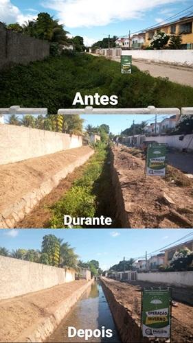 Em Paulista, Operação Inverno finaliza limpeza do Canal Angelim