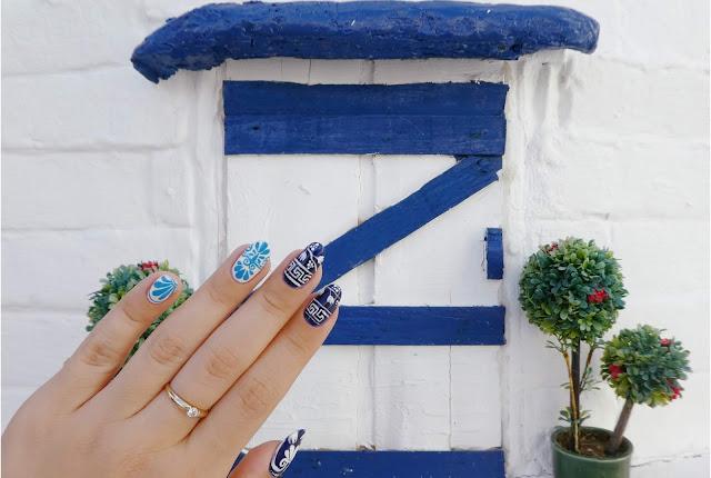 Greckie paznokcie