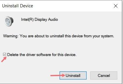 حل مشكلة الصوت في ويندوز 10