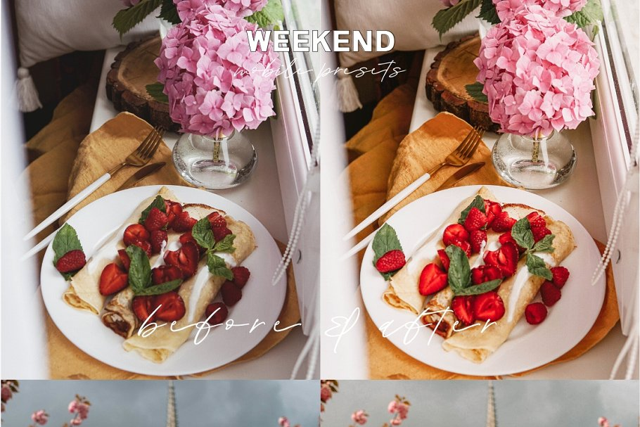 Warm & Airy Lightroom Mobile Presets (DNG)