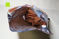 Tüte öffnen: 8 x Glutenfreie Protein Chips, 52gr pro Tüte, 20gr organic Proteine, glutenfrei, natural, healthy (BBQ)