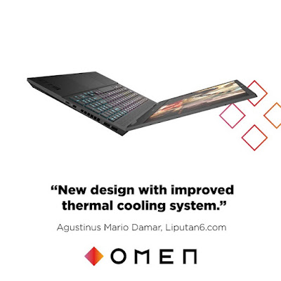 HP The New Omen 15 Series