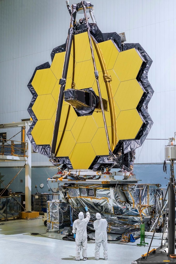 """James Webb space Telescope"" 100 times more powerful than the Hubble Telescope!"