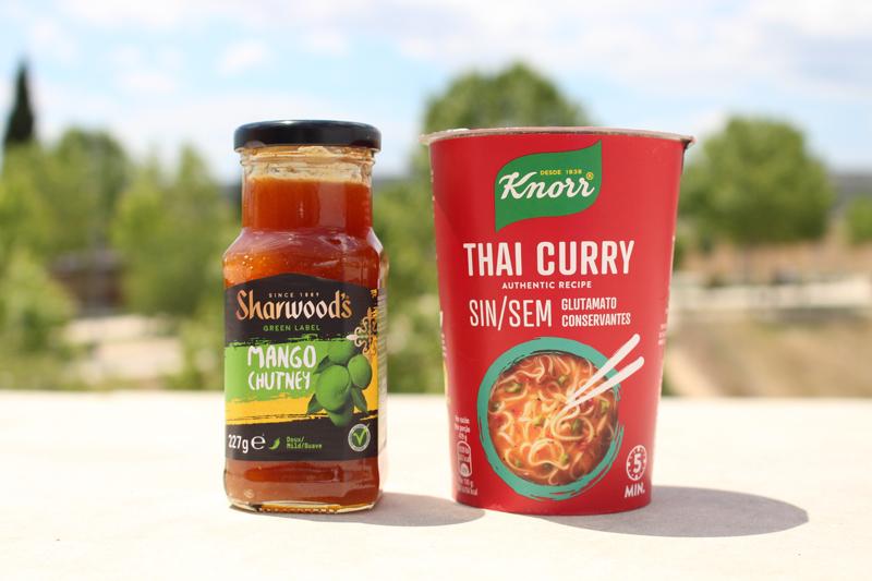 Salsas curry