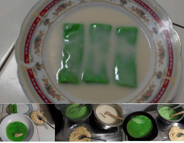 Gambar Kue Dadar Gulung Kuah Santan