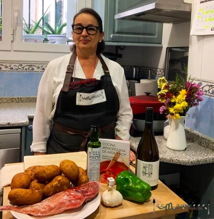 receta tradicional de Menorca