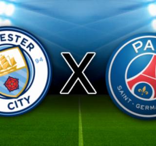 Champions League: Na Inglaterra, Manchester City e PSG duelam em busca de vaga na decisão.