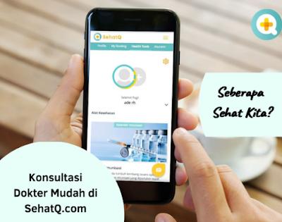SehatQ.com, Layanan Kesehatan Terbaik di Era Digital