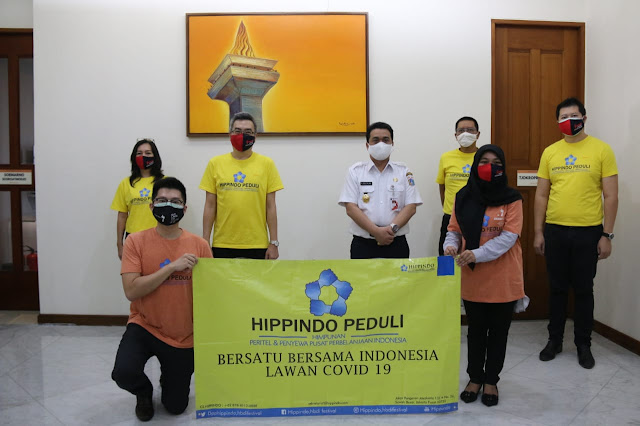 HIPPINDO Salurkan Bantuan Untuk Tenaga Medis dan Warga Jakarta