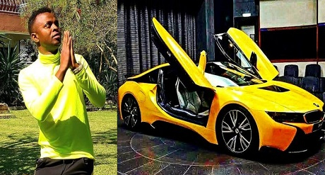 Kenyan Gospel Singer Threatens To Quit Gospel Music If God Doesn't Give Him BMWi8 After 40-day Prayer And Fasting