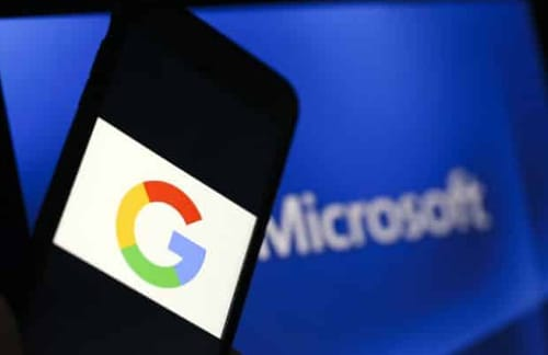 Microsoft and Google disagree over documents