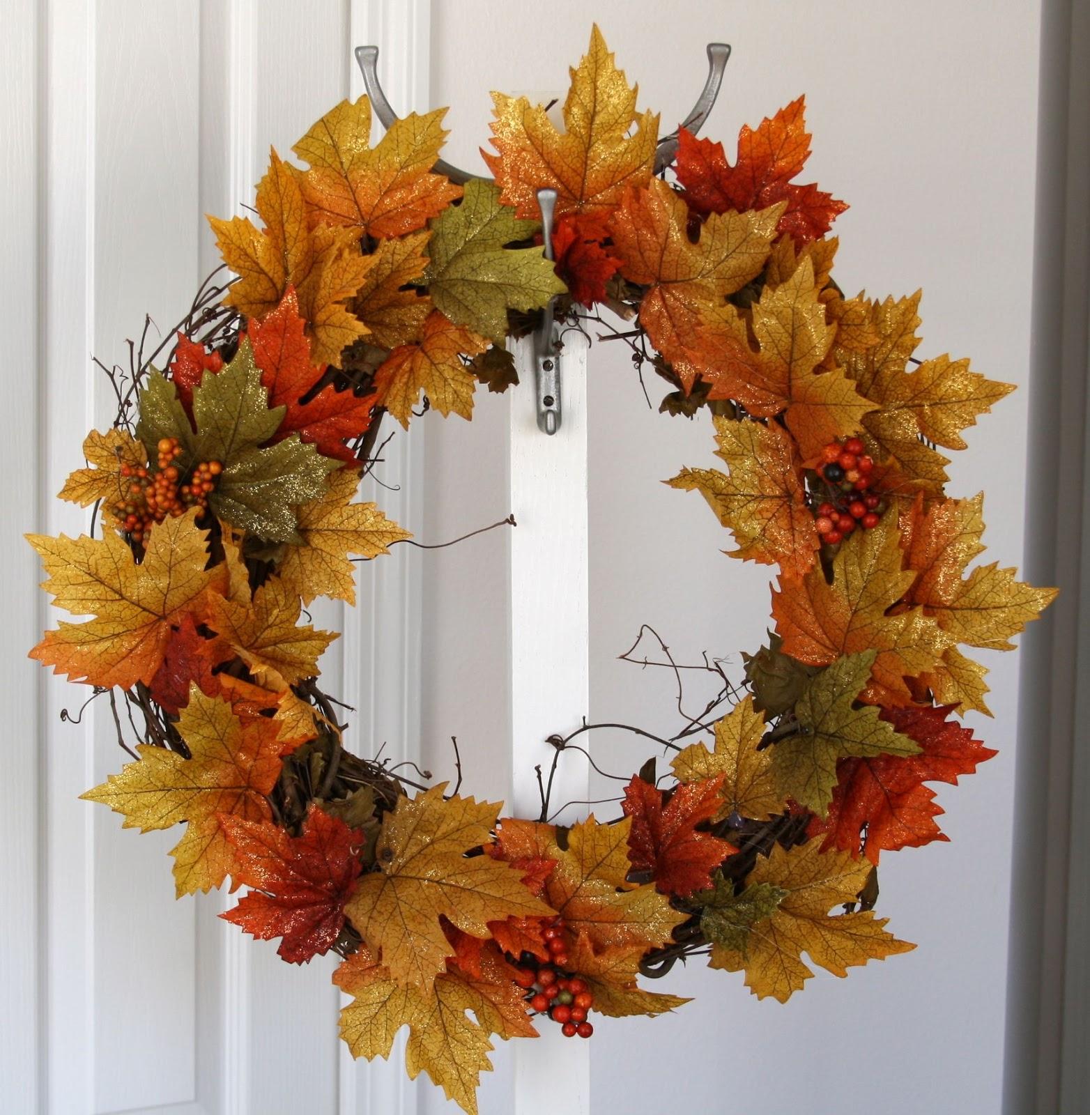 Simply Silver...: DIY Fall Wreath