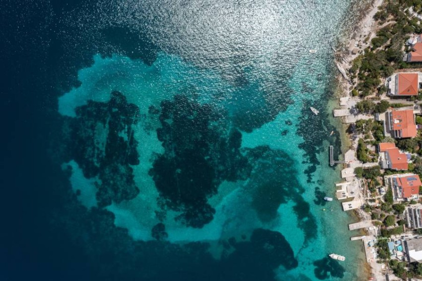 """A 6,000-year-old settlement discovered off the coast of Croatia """"I thought it might or might not be normal,"""" said Baritsa, a professor at Zadar University."""