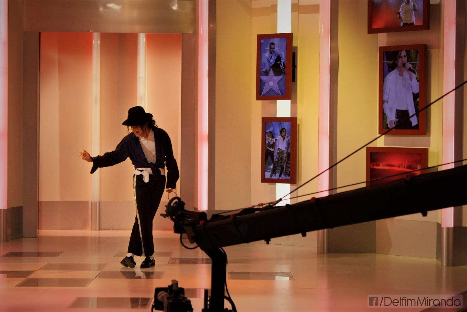 Delfim Miranda - Michael Jackson Tribute - The Way You Make Me Feel - Live on TV - TVI