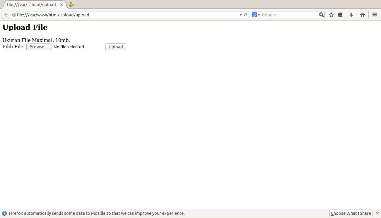 Cara Membuat Form Upload File Dengan Php Editor Software