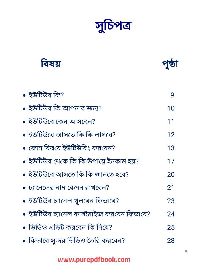 Youtubing Guide -Rafiul Ahsan-ইউটিউবিং শেখার শ্রেষ্ঠ একটি বই।