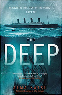 Photo of the book cover of The Deep by Alma Katsu