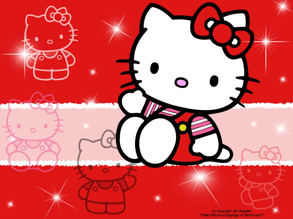 My Lovely Wallpapers Hello Kitty