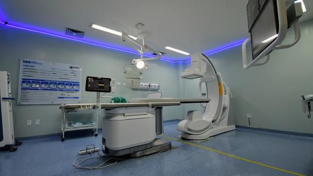 João Azevêdo amplia serviço de hemodinâmica e entrega leitos de UTI endovascular no Hospital Metropolitano
