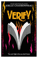 Verify by Joelle Charbonneau book cover and review