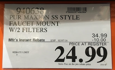 Deal for the PUR Ultimate Horizontal Faucet Mount at Costco