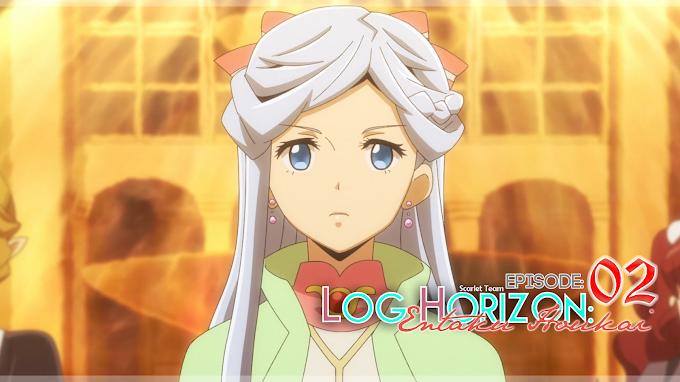 Log Horizon: Entaku Houkai - 02