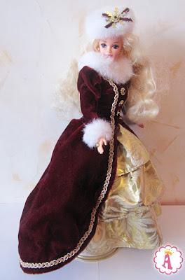 Роскошная кукла барби ретро Barbie Happy Holidays 1996 фирмы Mattel