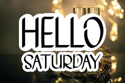 Hello Saturday - Best Handwritten Font For your Design