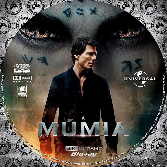 Label Bluray 4k A Múmia 2017 [Exclusiva]