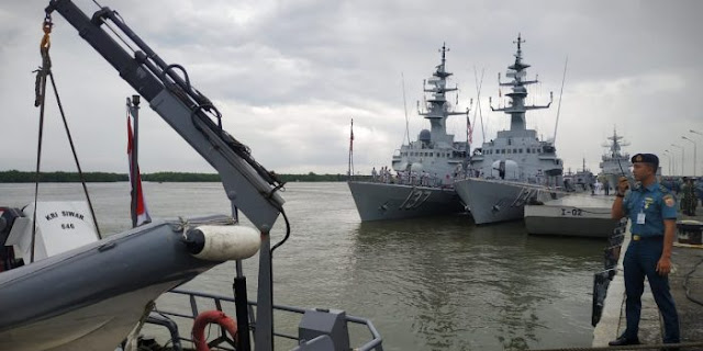 TNI AL Kirim 2 Kapal Perang Patroli di Selat Malaka