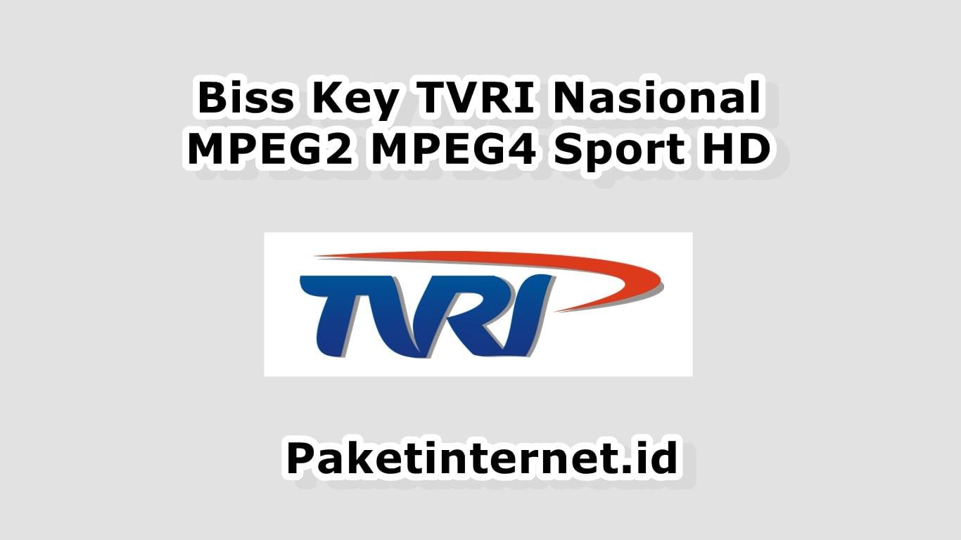 Biss Key TVRI