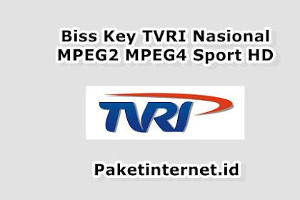 √ Update Biss Key TVRI Hari Ini MPEG2 MPEG4 Sport HD September 2020