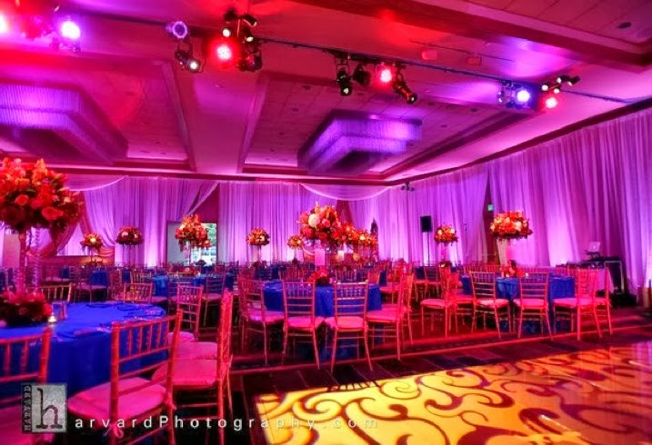 Sonal J. Shah Event Consultants, LLC: Dazzling Blue And Pink
