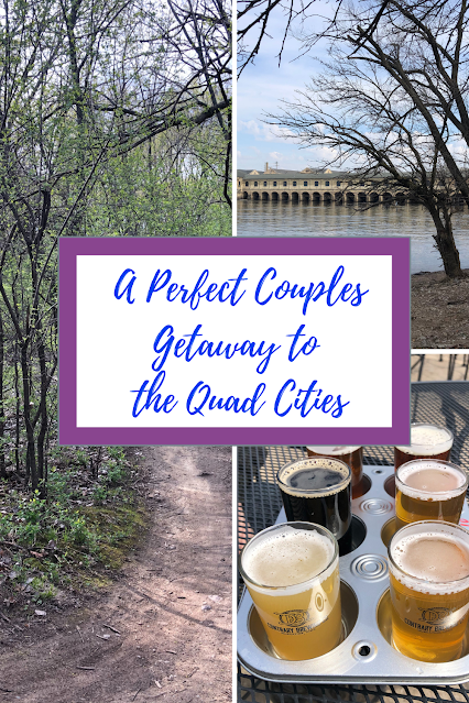 Art, Nature,  History, Foodie Finds and Beer Blend Into A Perfect Getaway in the Quad Cities of Illinois and Iowa