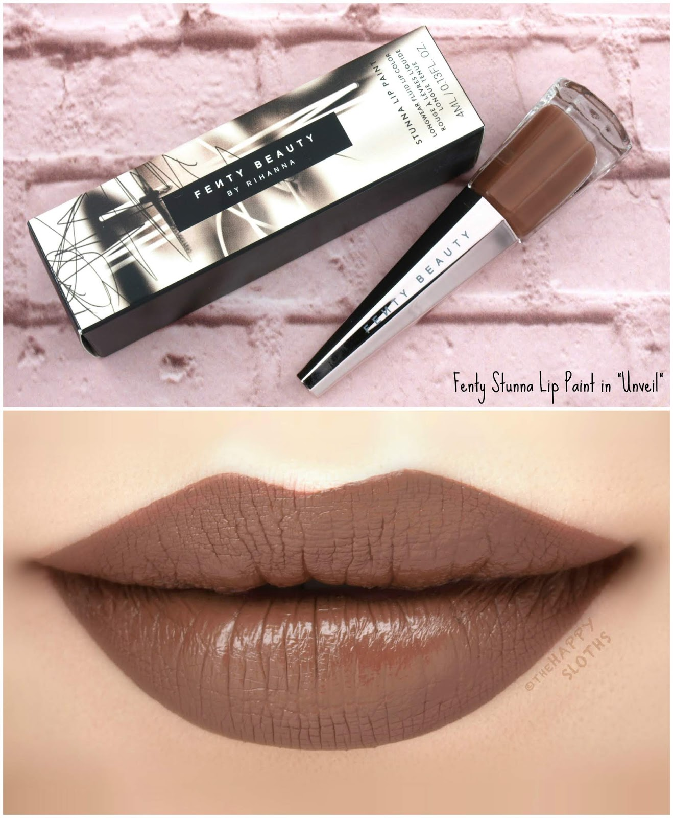 "Fenty Beauty by Rihanna | *NEW SHADES* Stunna Lip Paint in ""Unveil"": Review and Swatches"