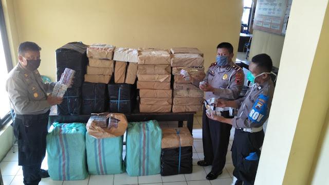 Bawa Ratusan Ribu Petasan, Warga Pemalang Ditangkap Polisi Di Bobotsari