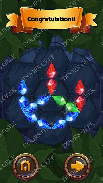 Gems & Magic [Emerald] Level 5 Solution, Walkthrough, Cheats