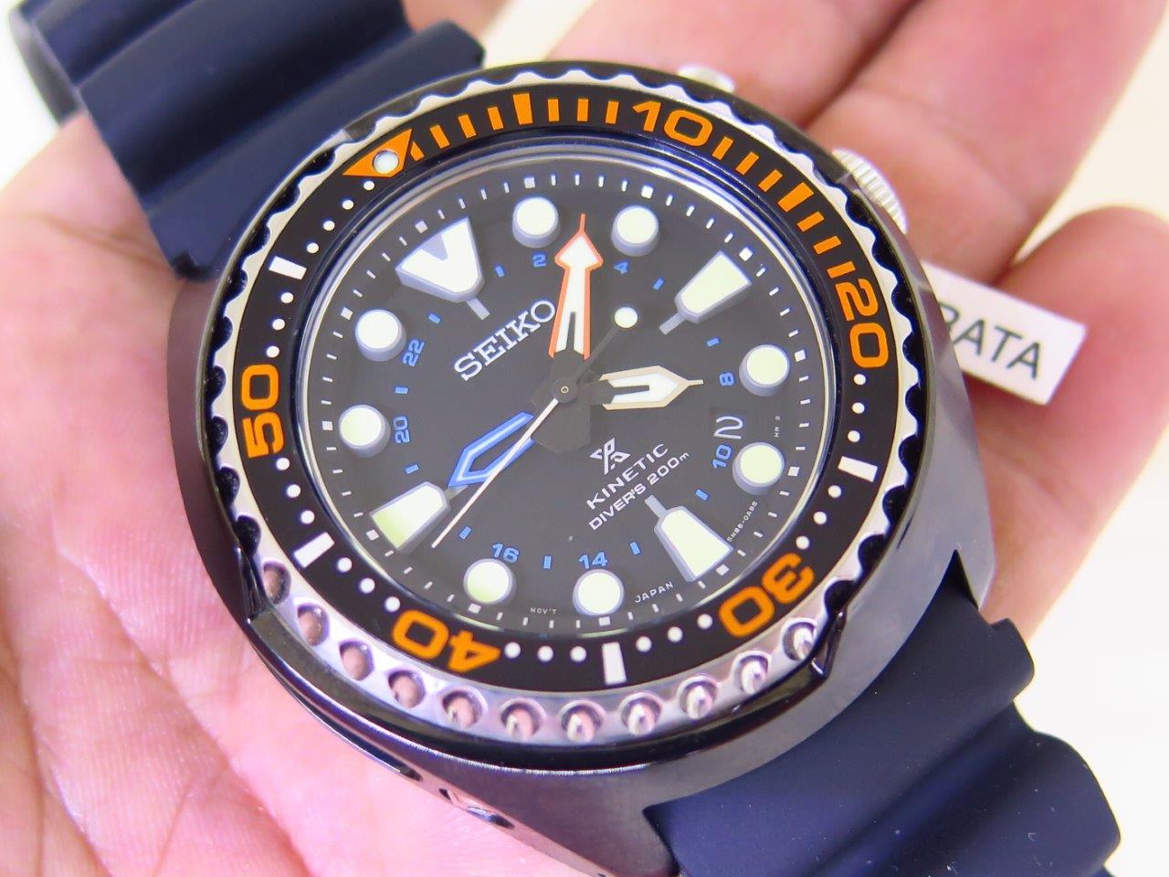 SEIKO PROSPEX KINETIC GMT DIVER 200m - SEIKO SUN023