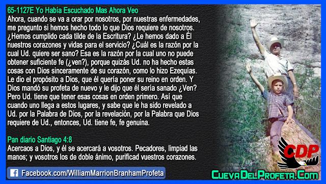 El poder de la Fe genuina - William Branham en Español