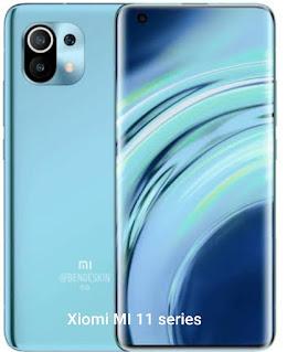 Xiaomi Mi 11and Xiomi 11 pro