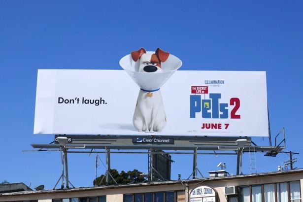 Secret Life of Pets 2 movie billboard