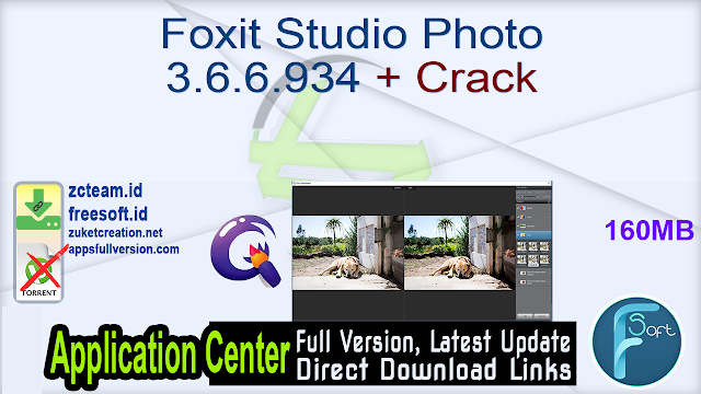 Foxit Studio Photo 3.6.6.934 + Crack_ ZcTeam.id