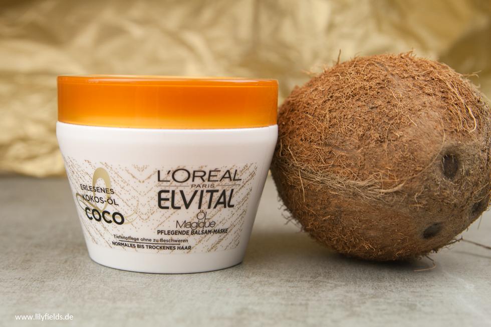 Elvital Öl Magique Coco Balsam-Maske
