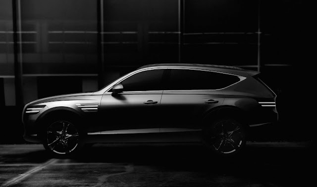 Genesis Shares First Images Of Its First SUV, GV80