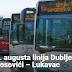 LUKAVAC Od 1. augusta linija Dublje – Prokosovići – Lukavac