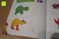 Anleitung 2D: Playbees 100 Teile Magnetische Bausteine Set für 2D und 3D Form Konstruktionen, Regenbogenfarben Magnetspielzeug, Baukasten Magnetspiel, Magnetbausteine