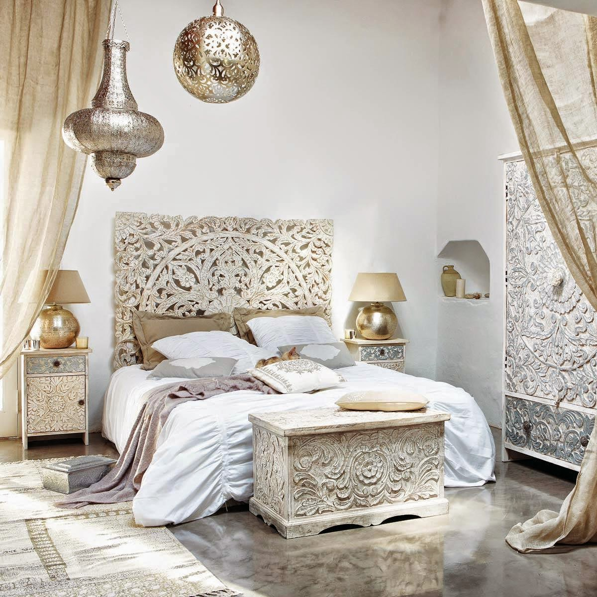 Chambre orientale idee deco for Decoration chambre orientale